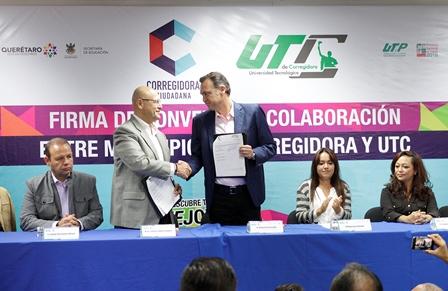 Convenios Corregidora-UTC (2)