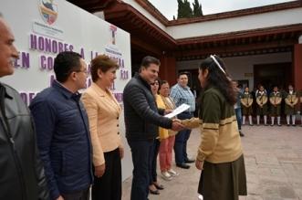 HONORES A LA BANDERA EN CONMEMORACION AL 526 ANIVERSARIO DEL DESCUBRIMIENTO DE AMERICA 2 (2)