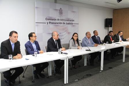 Foto2 Comisión Admininistración de Justicia
