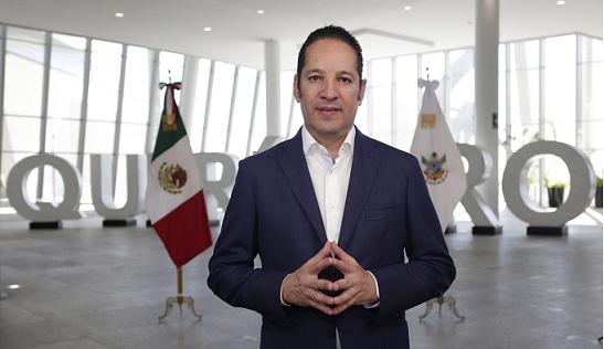 GOBERNADOR DEL ESTADO DE QUERETARO DA MENSAJE OFICIAL SOBRE LA SITUACION DEL COVID19 EN EL ESTADO DE QUERETARO
