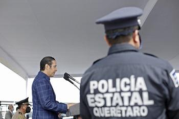 GOBERNADOR DEL ESTADO ENCABEZA ENTREGA DE EQUIPAMIENTO, UNIDADES Y ARMAMENTO A POLICIA ESTATAL E INSTITUCIONESDE SEGURIDAD PUBLICA MUNICIPAL 2020