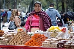 mujer indígena en la CDMX